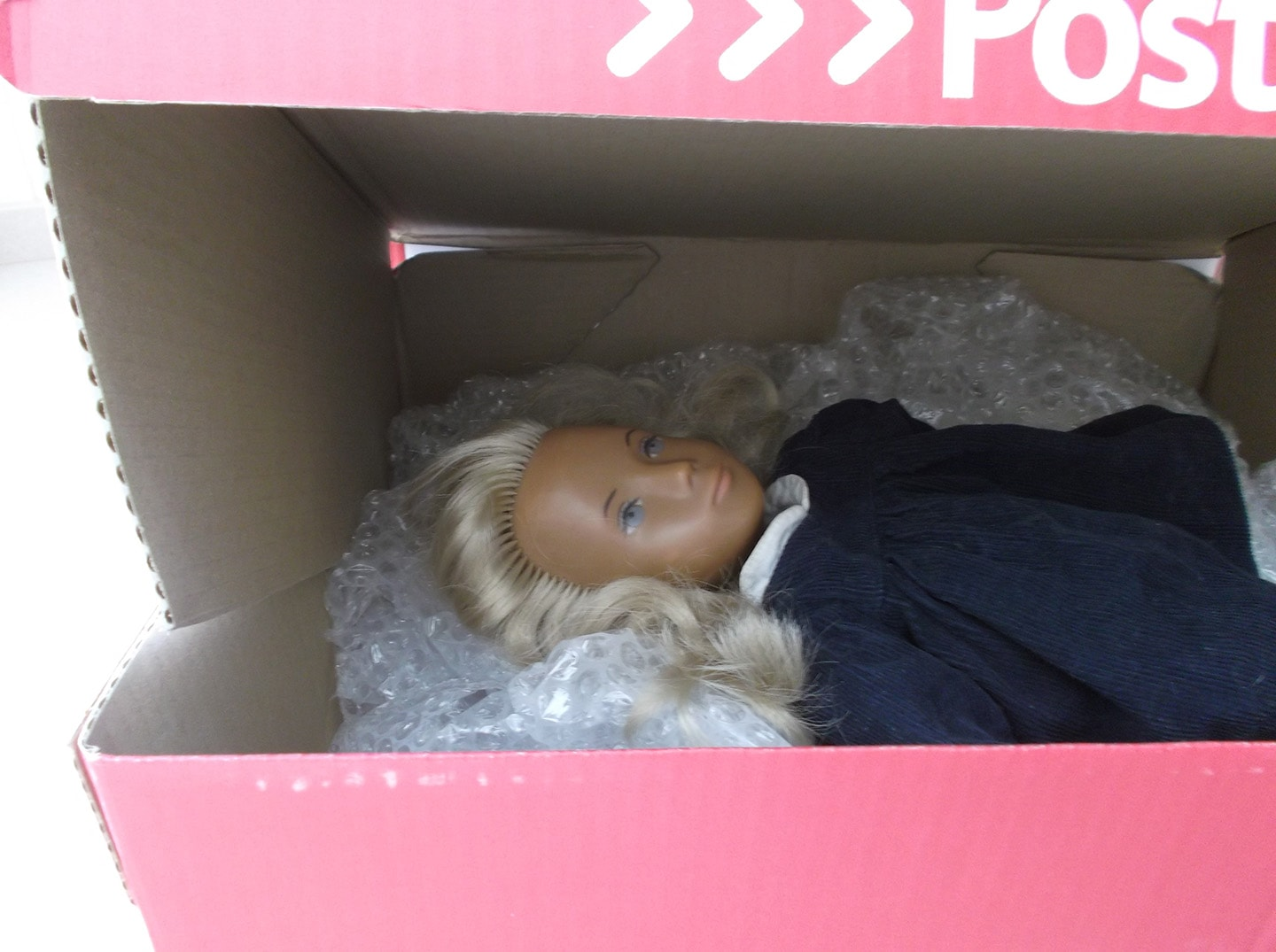 NP Sasha Doll in box