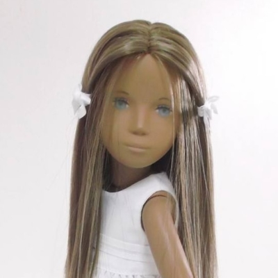 Sasha Doll - Brunette Straight Hair