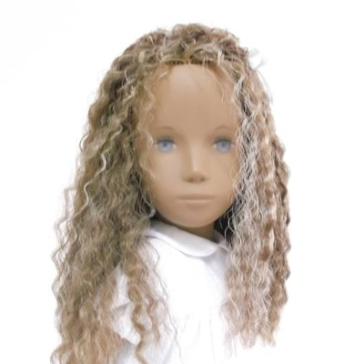 Sasha Doll - Blonde Curly Hair