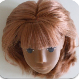 Sasha Doll Fix Hair Part