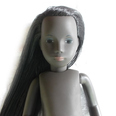 Caleb Sasha Doll Hair Re-Rooting